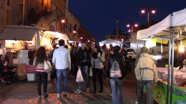 Fiera di Tarquinia by Night
